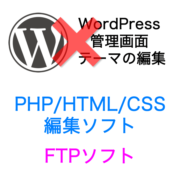 PHP/HTML/CSS編集ソフトとFTPソフトが必要です